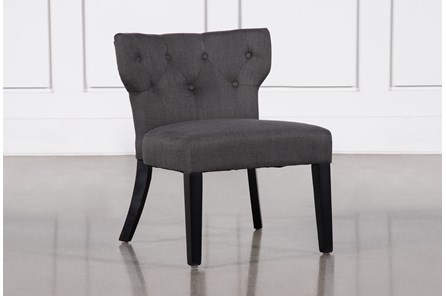 Ella Grey Accent Chair