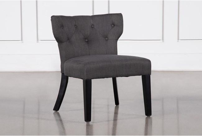 Ella Grey Accent Chair - 360