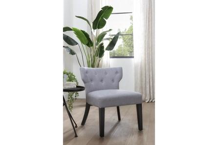 Ella Light Grey Accent Chair - Main