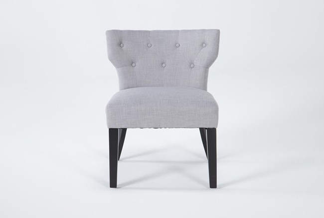 Ella Light Grey Accent Chair - 360