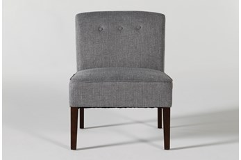 Rosie Grey Accent Chair