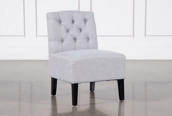 Desi Light Grey Accent Chair
