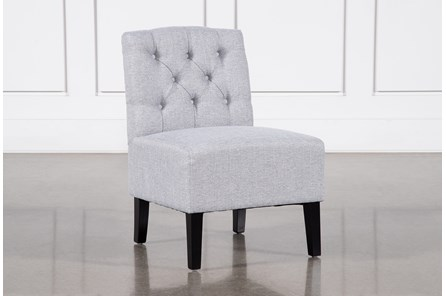 Desi Light Grey Accent Chair