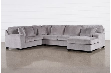 Bryton 3 Piece Sectional With Right Arm Facing Chaise