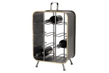 22 Inch Boxed Wine Rack
