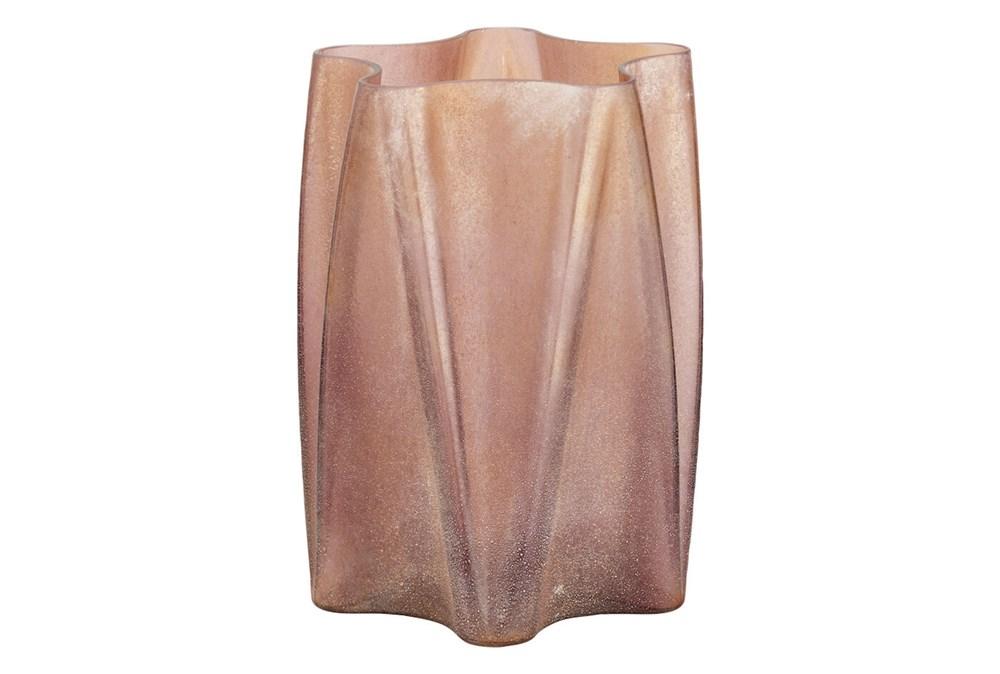 13 Inch Rose Gold Vase