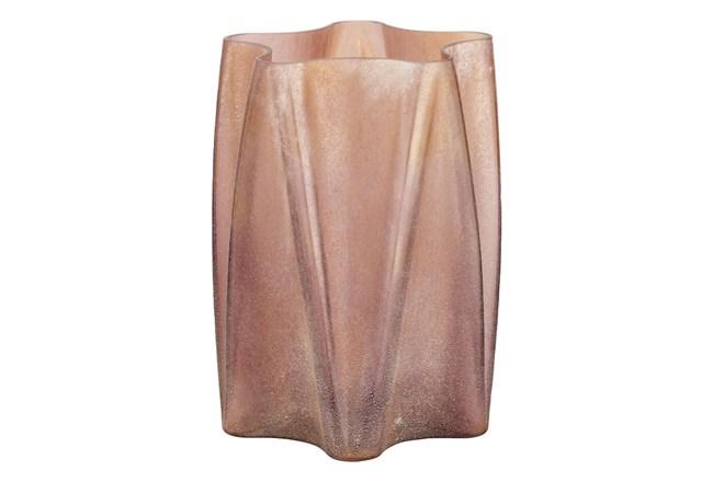 13 Inch Rose Gold Vase - 360
