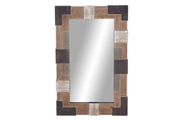 45 Inch Tiled Wall Mirror