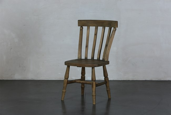 Reclaimed Pine Dining Chair - 360