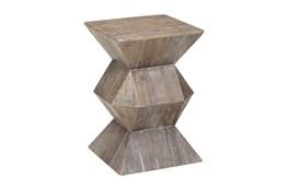 Elm Geometric Accent Table