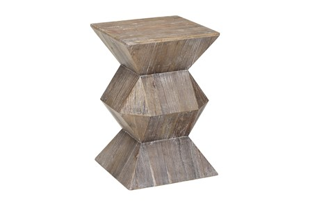 Elm Geometric Accent Table