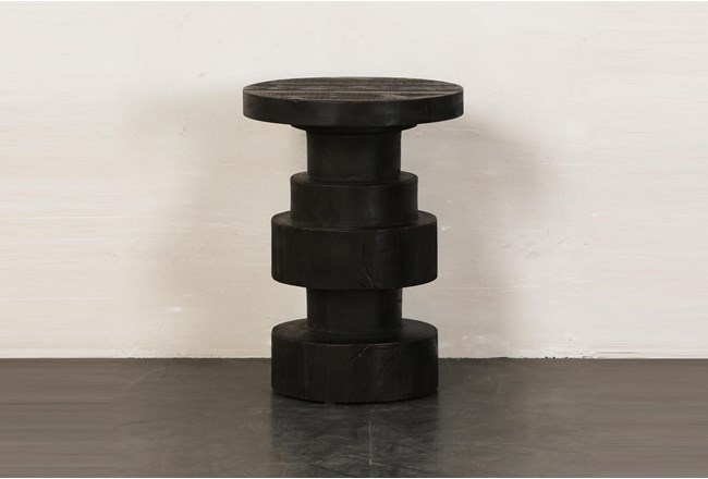 Black Structural Accent Table - 360