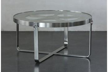 Glass + Reclaimed Nautical Coffee Table
