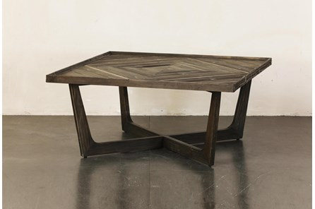 Natural Reclaimed Pine Coffee Table - Main