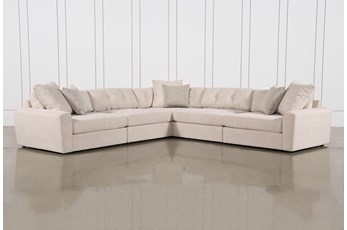"Nest 5 Piece 140"" Sectional"