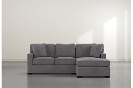 "Alder Foam Reversible 93"" Sofa/Chaise"
