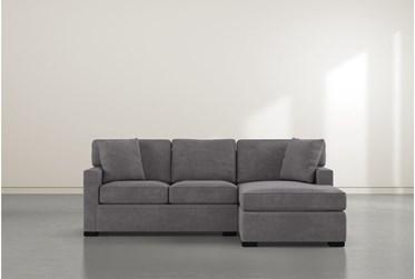 "Alder Foam Reversible 93"" Sofa/Chaise"