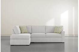 "Aspen Sterling Foam 2 Piece 108"" Sectional With Left Arm Facing Armless Chaise"