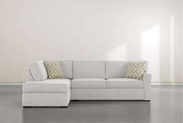 """Aspen Sterling Foam 2 Piece 108"""" Sectional With Left Arm Facing Armless Chaise"""