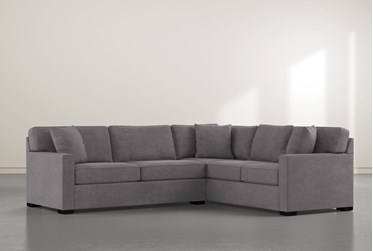 "Alder Foam 2 Piece 108"" Sectional With Left Arm Facing Condo Sofa"