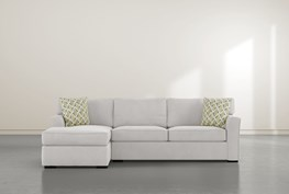 """Aspen Sterling Foam 2 Piece 105"""" Sectional With Left Arm Facing Chaise"""