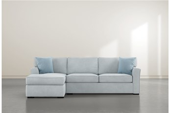 """Aspen Tranquil Foam 2 Piece 105"""" Sectional With Left Arm Facing Chaise"""