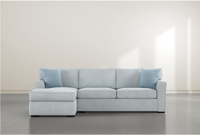 Aspen Tranquil Foam 2 Piece Sectional With Left Arm Facing Chaise - 360
