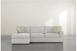 Aspen Sterling Foam 2 Piece Sectional With Right Arm Facing Chaise