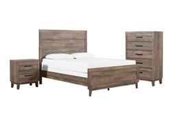 Ranier California King 3 Piece Bedroom Set