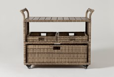 Capri Outdoor Bar Cart