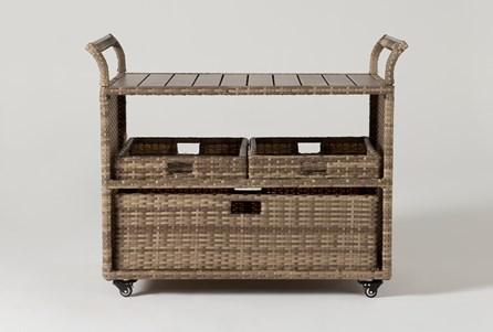 Capri Outdoor Bar Cart - Main