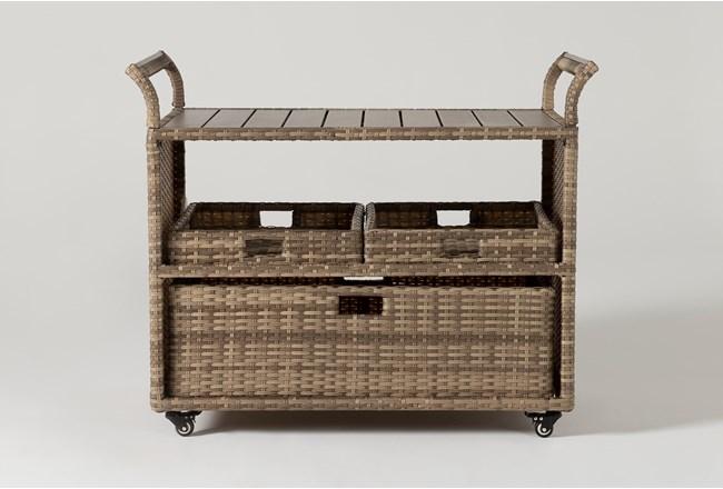 Capri Outdoor Bar Cart - 360