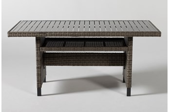 Hayes Outdoor Banquette Dining Table