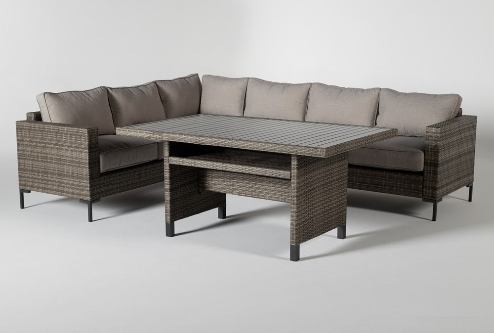 Hayes Outdoor Banquette Lounge