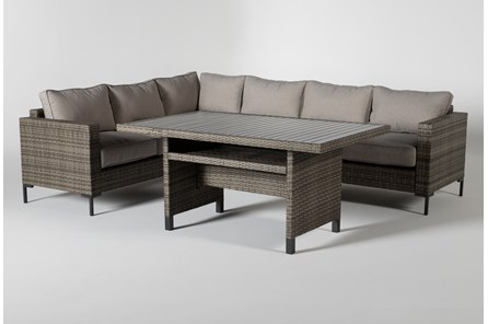 Hayes Outdoor Banquette Lounge - Main
