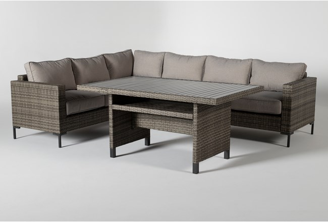 Hayes Outdoor Banquette Lounge - 360