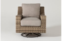 Capri Outdoor Swivel Chair