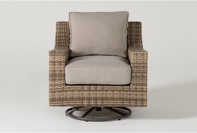 Capri Outdoor Swivel Chair - 360