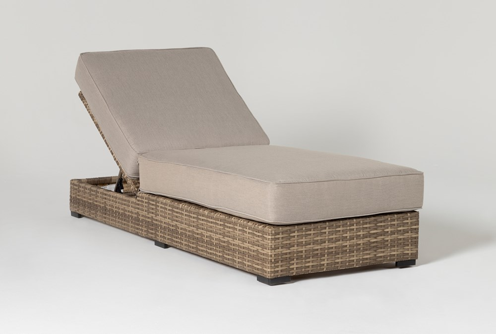 Capri Outdoor Chaise Lounge