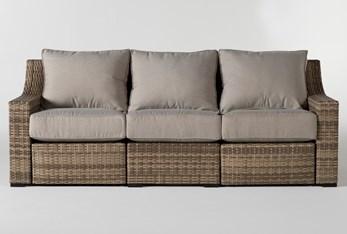 "Capri Outdoor 91"" Reclining Sofa"