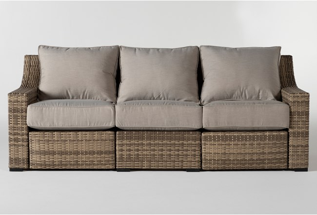 "Capri Outdoor 91"" Reclining Sofa - 360"