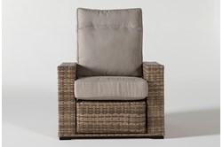 Capri Outdoor Pressback Reclining Chair