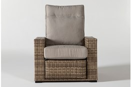 Capri Outdoor PUSH BACK Reclining Chair
