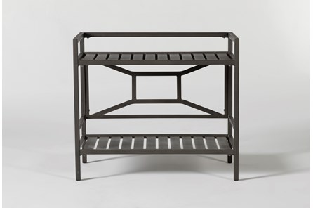 Martinique Outdoor Bar Cart - Main