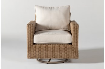 Sebastian Outdoor Swivel Chair