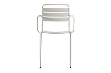 Flip Top Outdoor White Dining Chair - Main