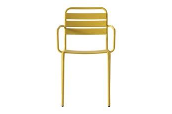 Flip Top Outdoor Lemon Dining Chair