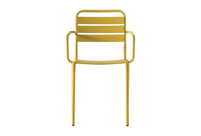 Flip Top Outdoor Lemon Dining Chair - 360