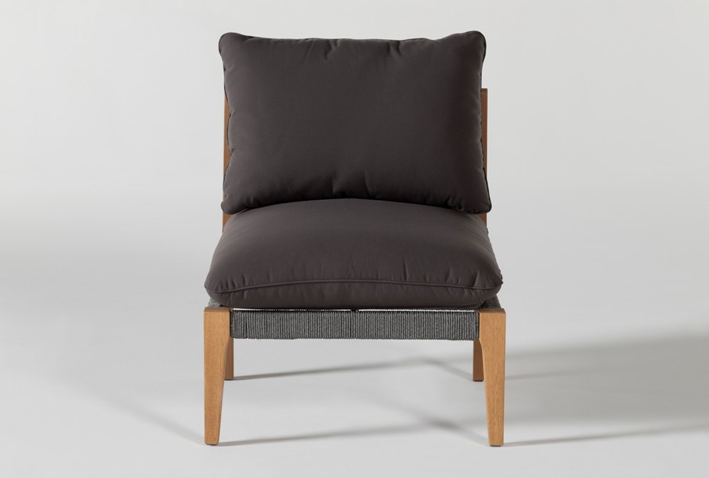 Hyde Outdoor Armless Chair