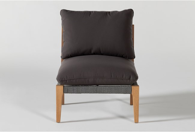 Hyde Outdoor Armless Chair - 360